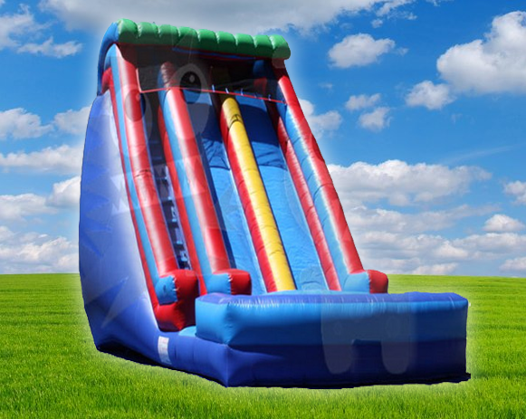 20' Dual Drop Zone Water Slide