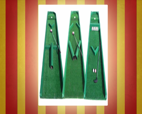 Three Hole Golf Game