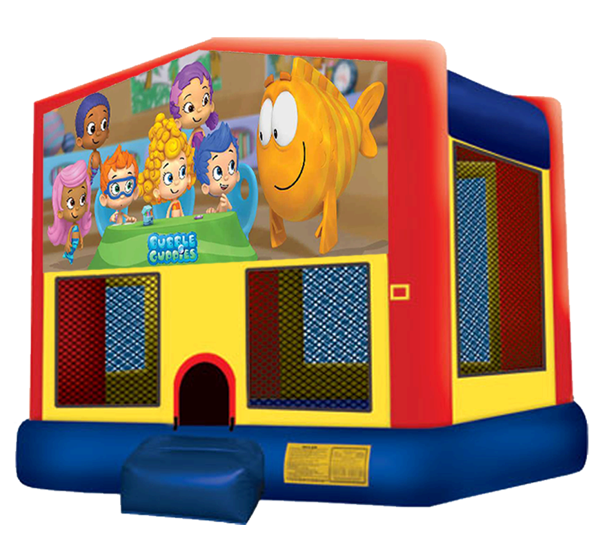 Bubble Gupples Bounce House