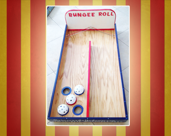 Bungee Roll Carnival Game