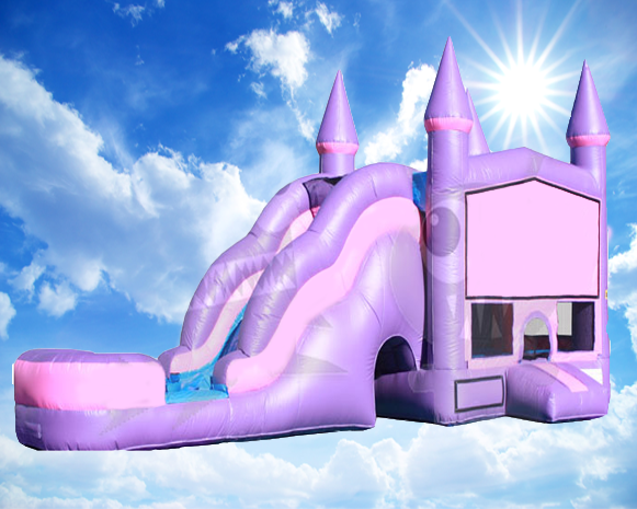 C510 Pink Castle With Pool