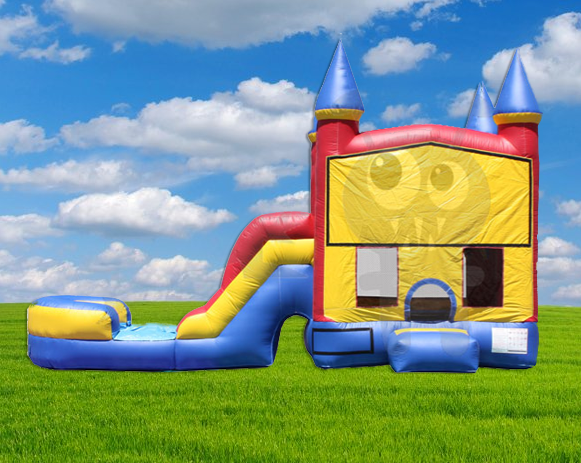 5 in 1 Castle Combo Splash Bounce House