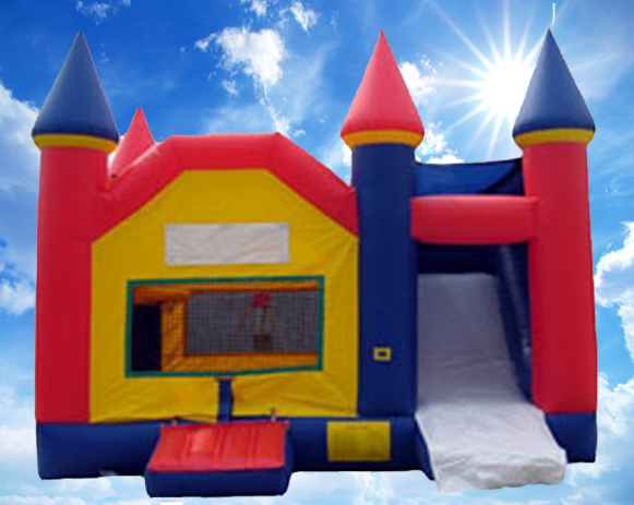 4-in-1 Castle Combo Bounce House