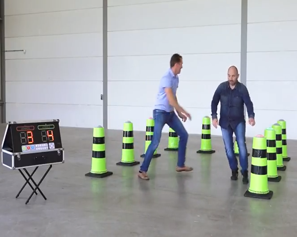 Interactive Cones Game