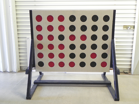 Giant Connect Four Carnival Game