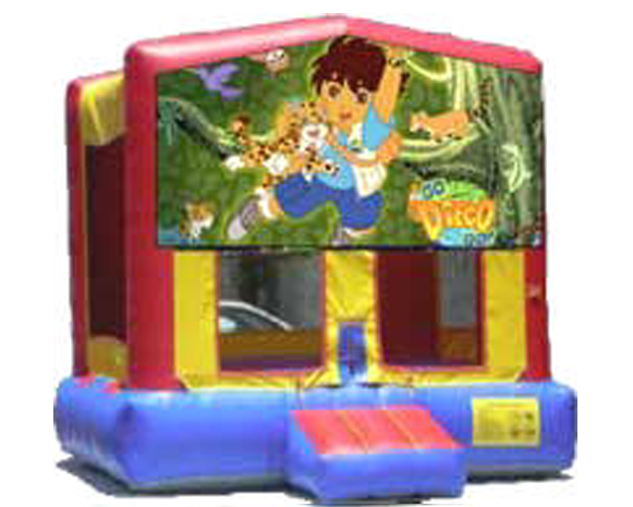 Go Diego Go & Dora The Explorer Bounce House