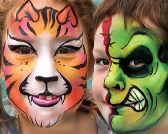Face Painting Services Sacramento CA