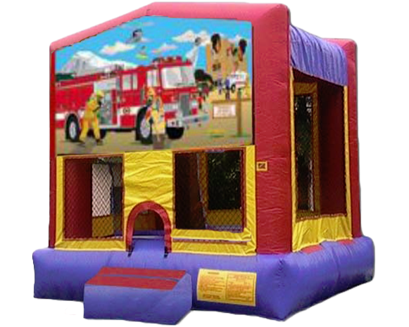 Fire Truck Bounce House
