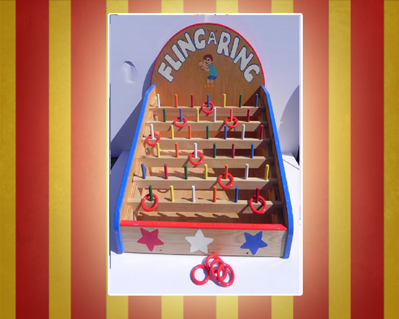 Fling A Ring Carnival Game