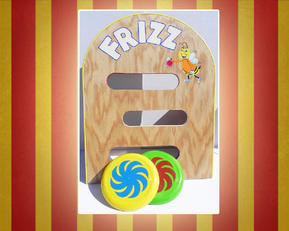 Frizz Toss Carnival Game
