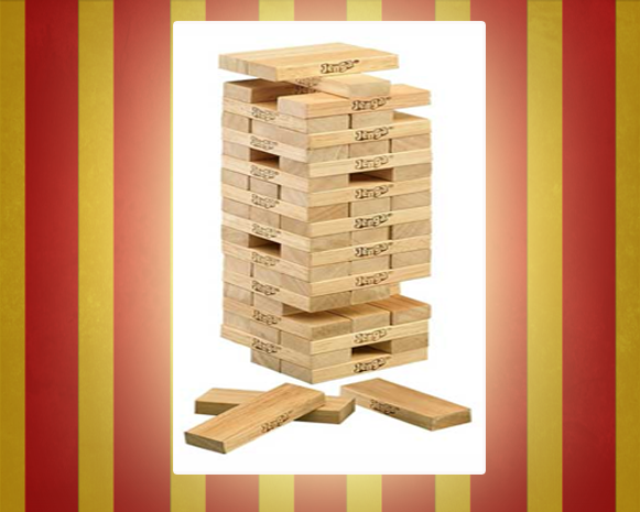 Giant Jenga Carnival Game