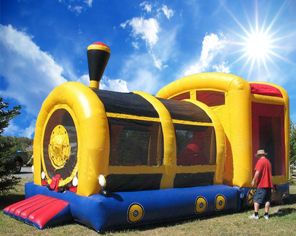 Giant Train Combo Inflatable