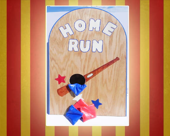 Home Run Carnival Game