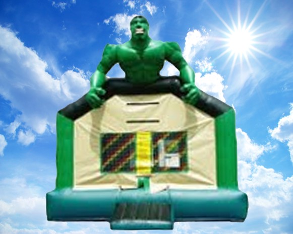 Hulk Combo Bounce House