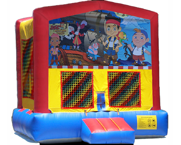 Jake & The Neverland Pirate Bounce House