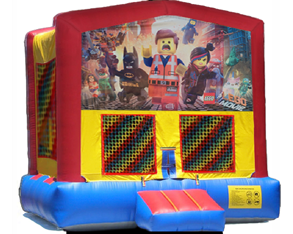 Lego Super Heros Bounce House