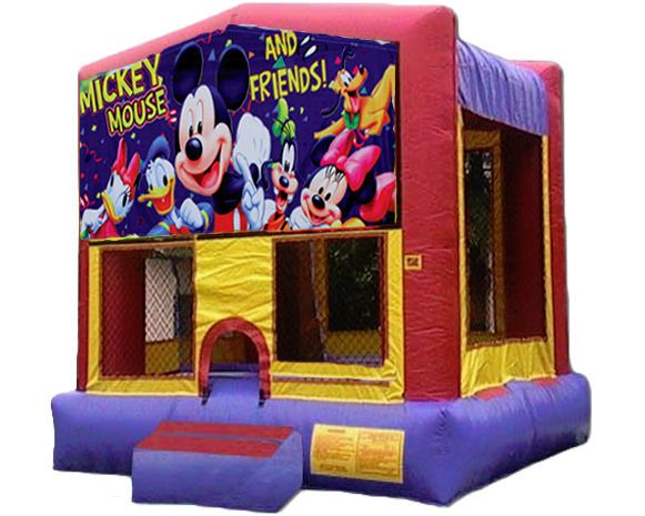 Mickey & Friends Bounce House