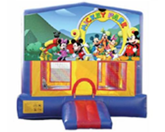 Mickey's Park Bounce House