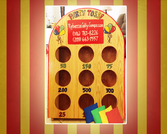 Party Toss Carnival Game