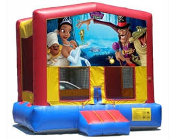 Princess & The Frog Bounce House