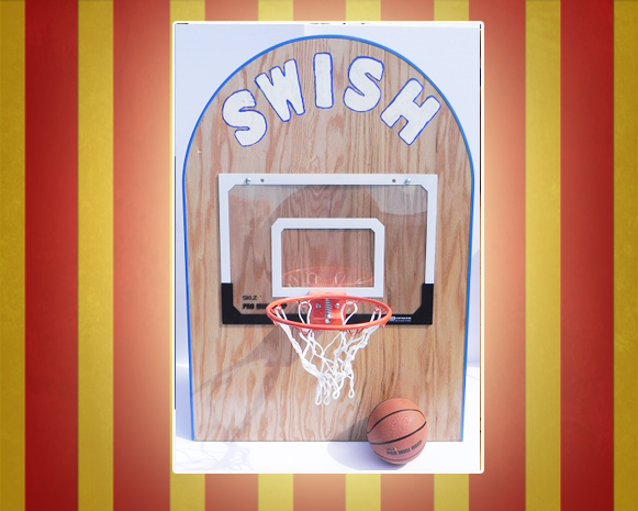 Basketball Swish Carnival Game