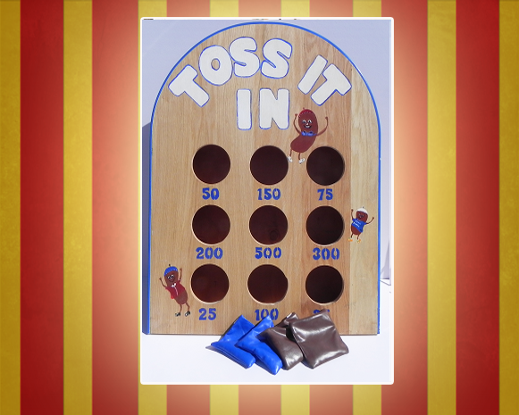 Toss It Carnival Game