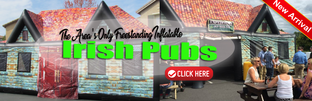 Inflatable Irish Pubs Sacramento CA