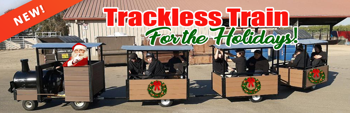 Trackless Train Rental Sacramento CA