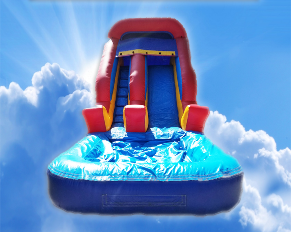 14' Inflatable Water Slide
