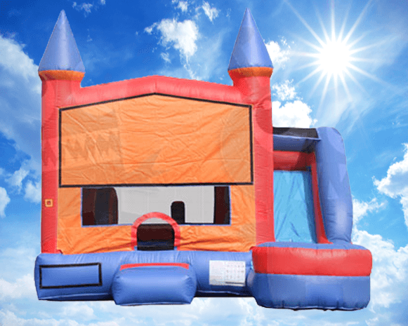 660 Castle Combo Bounce House