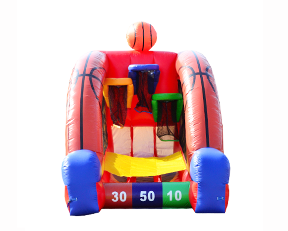 Inflatable Basketball Challenge Rental