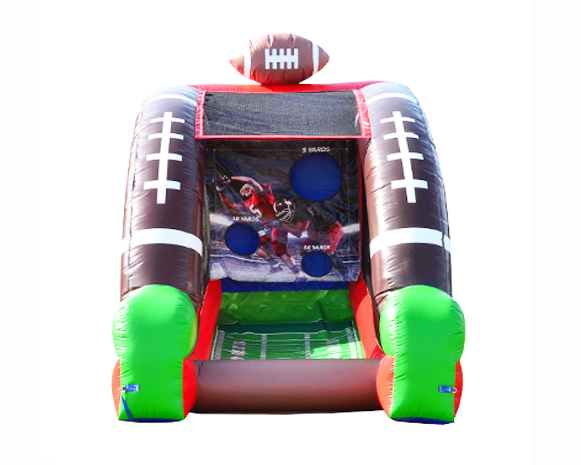 Inflatable Football Challenge Game
