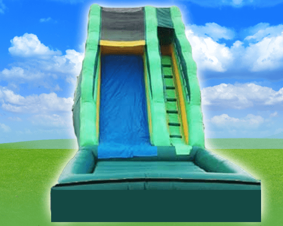 16' Green Scream Dry Slide