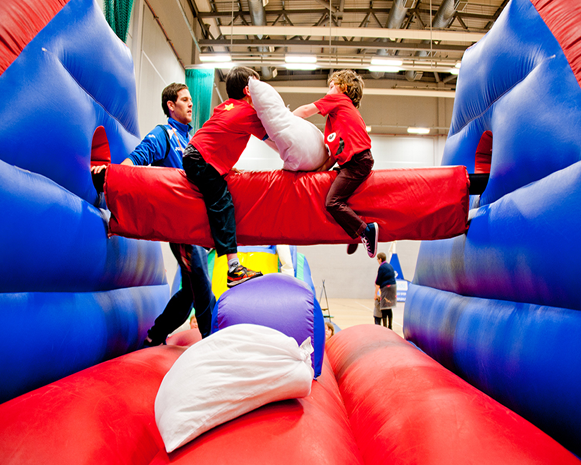 Inflatable Pillow Fight Arena