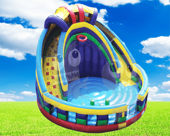 Round Combo Bounce House