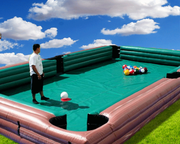Inflatable Pool Table Game
