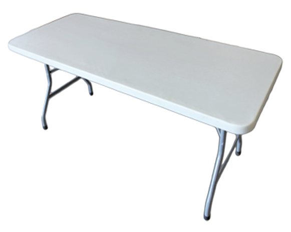 6' Rectangular Table Rentals
