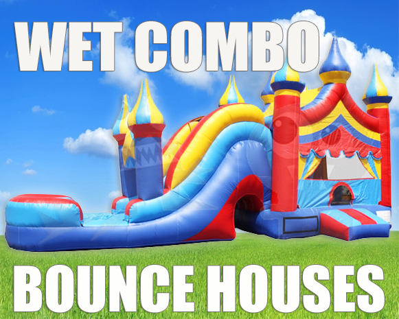Inflatable Combo Bounce House Rentals