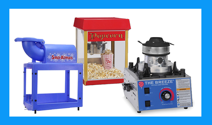 Food Machine Rentals Elk Grove CA