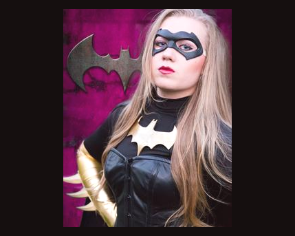 Bat Girl Costume Character