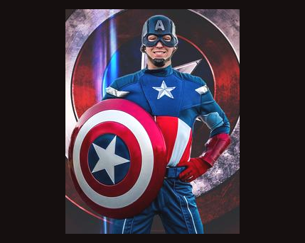Captain America Costume Character