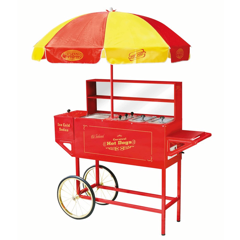 Carnival Hot Dog Cart