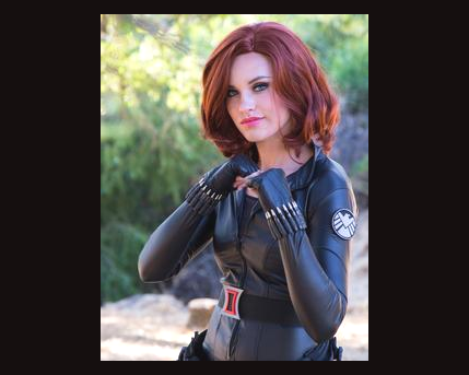 Black Widow Costume Character