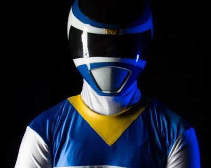 Blue Power Ranger Costume Character