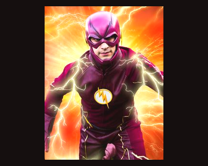 Flash Costume Character