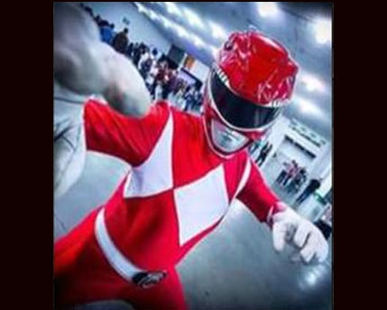Red Power Ranger Costume Character