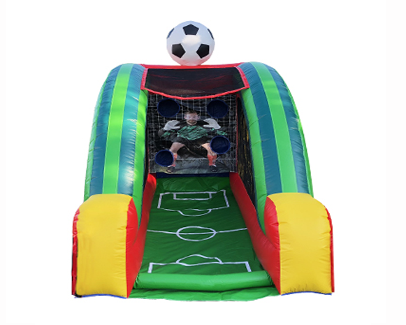 Inflatable Soccer Challenge Game