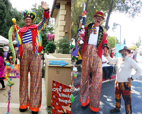 Stilt Walkers Sacramento CA
